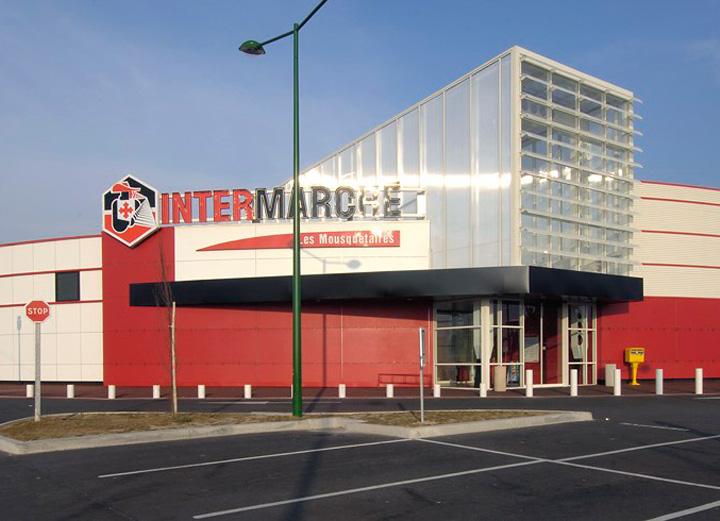 cr ation centre commerciaux architecte commerce combs la ville pr s d 39 vry en seine et marne. Black Bedroom Furniture Sets. Home Design Ideas